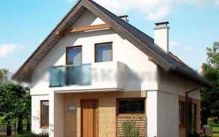 Проекты домов с мансардой из газоблока