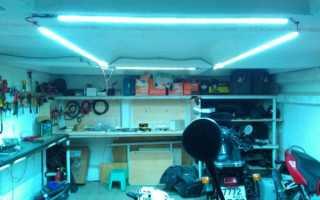 Какие виды светильников для гаража бывают