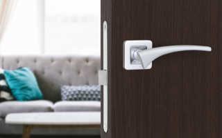 Какие дверные ручки бывают для межкомнатных дверей