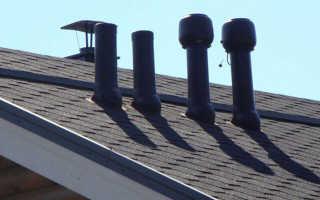 Как вывести трубу вентиляции на крышу