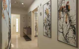 Картины в интерьере прихожей и коридора