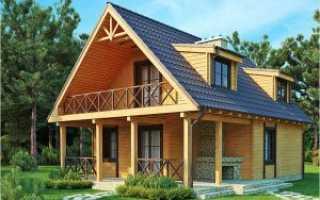 Материал для двускатной крыши