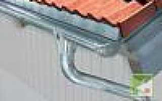 Элементы водостока для крыши