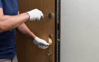 Как установить железную дверь