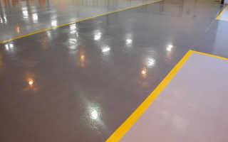 Какой краской лучше красить бетонный пол