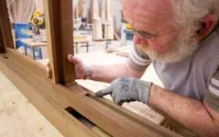 Как сделать окно из дерева самостоятельно