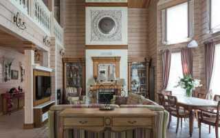 Шторы для маленьких окон в деревянном доме