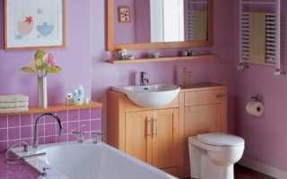 Какую выбрать краску для ванной без запаха