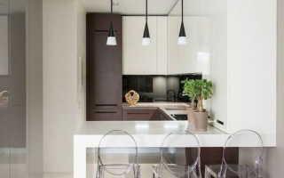 Ниша в интерьере кухни