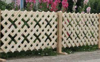 Декоративный забор для дачи