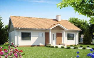 Двускатные крыши одноэтажных частных домов
