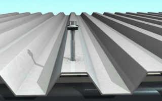Как крепить профнастил на крышу саморезами