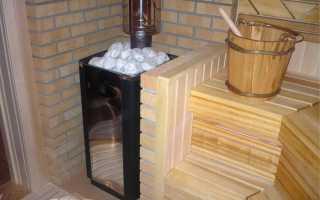 Дымоход для печи из кирпича в бане