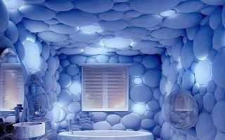 Пластиковые панели для ванной 3д