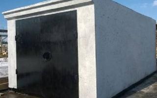 Строительство бетонных гаражей