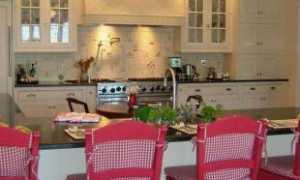 Интерьер городской кухни в современном стиле
