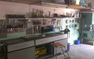Верстак в гараж