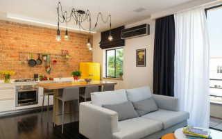 Кухня, совмещенная с гостиной в хрущевке