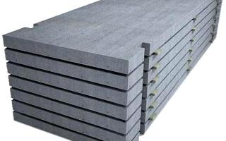 Железобетонные плиты дорожные, пустотные, плоские, плиты покрытий