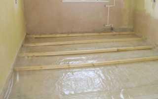 Гидроизоляция деревянного пола в частном доме