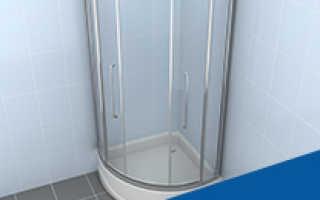 Поддоны и двери для душевых кабин