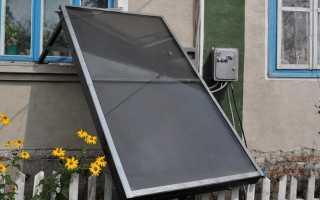 Как сделать водяной солнечный коллектор
