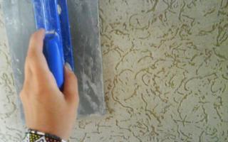 Как правильно наносить декоративную штукатурку