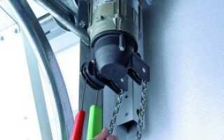 Электропривод для гаражных ворот