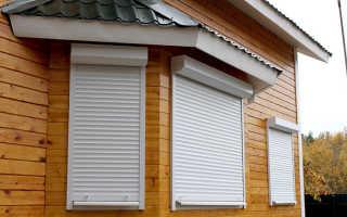 Защитные жалюзи на окна