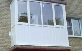 Как застеклить балкон в хрущевке