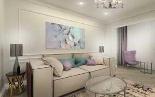 Молдинги в интерьере квартиры