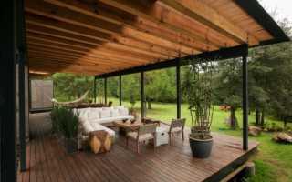 Чем покрасить деревянный пол на террасе