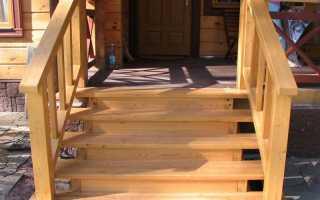 Устройство крыльца в деревянном доме