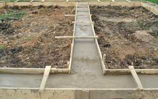 Мелкозаглубленный ленточный фундамент для дома