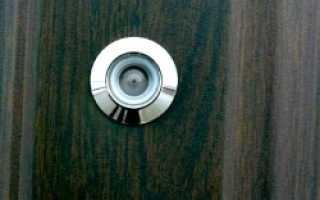 Как выбрать дверной глазок