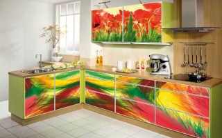 Обновление кухонного гарнитура самоклеющей пленкой