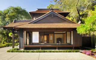 Дом в японском стиле