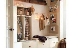Как правильно выбрать мебель для маленькой прихожей