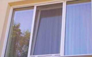 Крепеж для москитных сеток на пластиковые окна