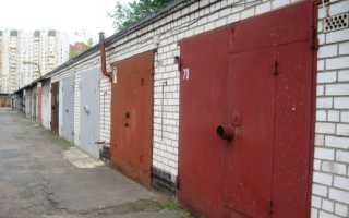 Защита гаража от вскрытия