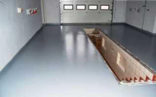 Чем покрыть бетонный пол в гараже