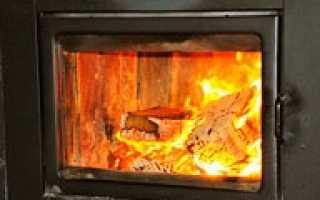 Стекло огнеупорное для камина