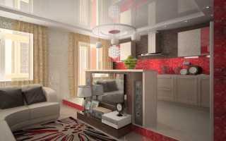 Подиум в интерьере кухни