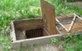 Как сделать погреб на даче