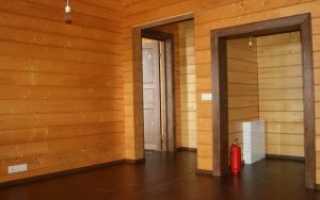 Материалы для внутренней отделки дома из бруса