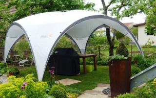 Как выбрать шатер для дачи