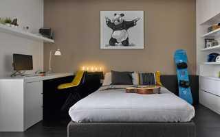 Интерьер комнаты для мальчика подростка