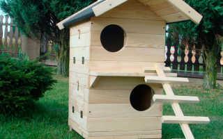 Зимний домик для кошки