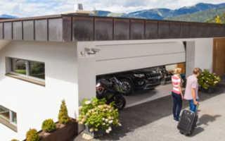 Ворота гаражные Аlutech