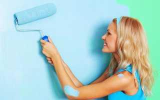 Акриловая латексная краска для стен